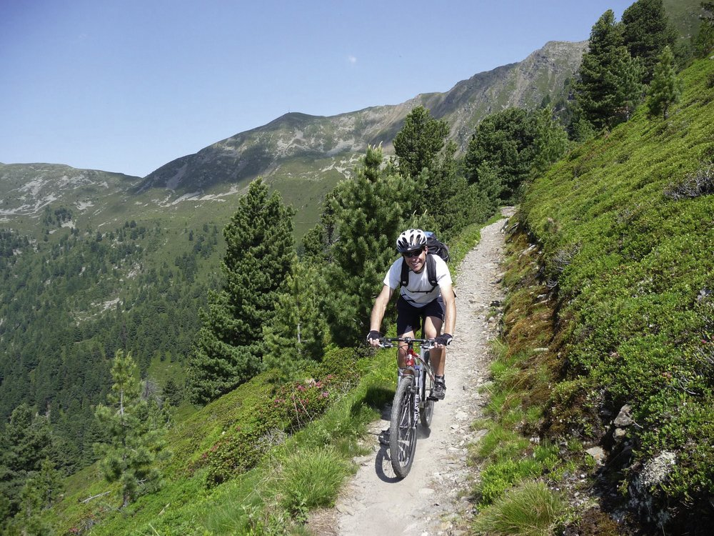 Mountainbiken im Eisacktal