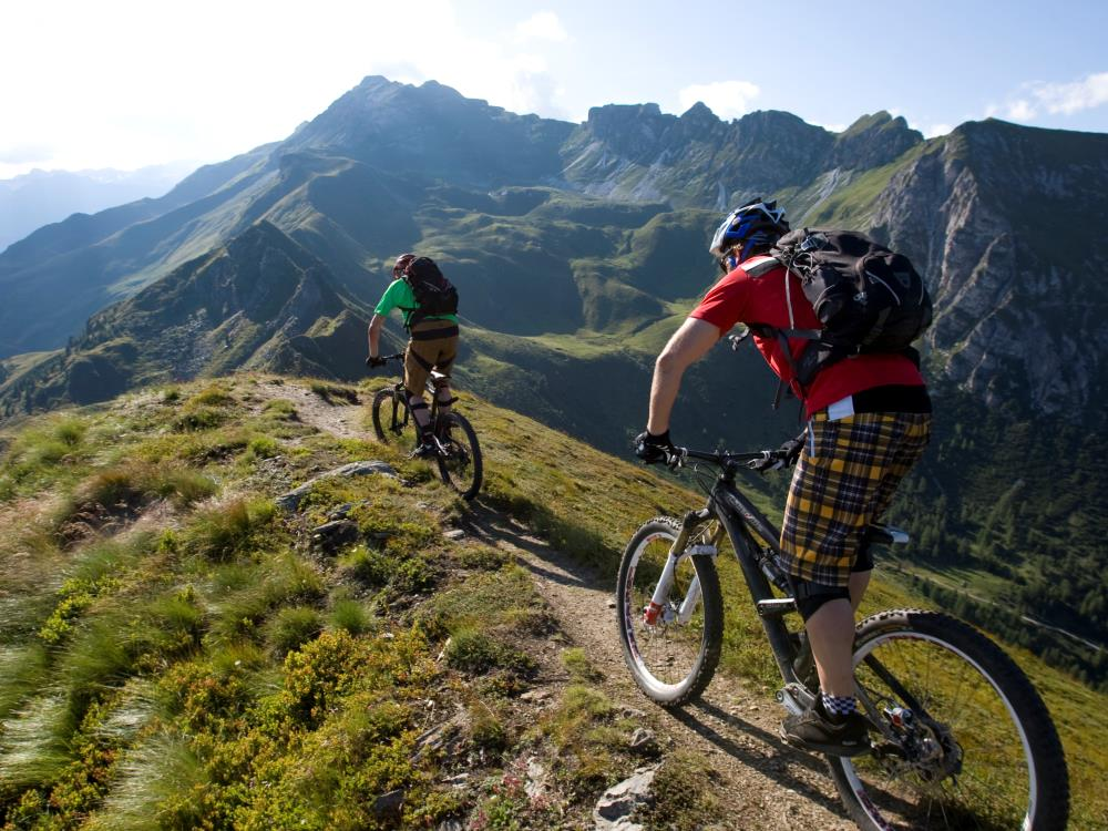 Mountainbiken in Sterzing im Eisacktal